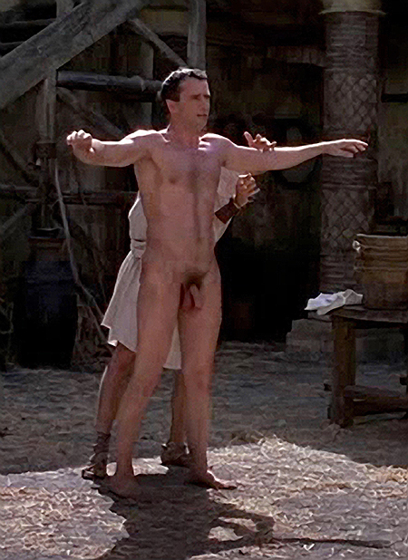 James Purefoy shows his penis