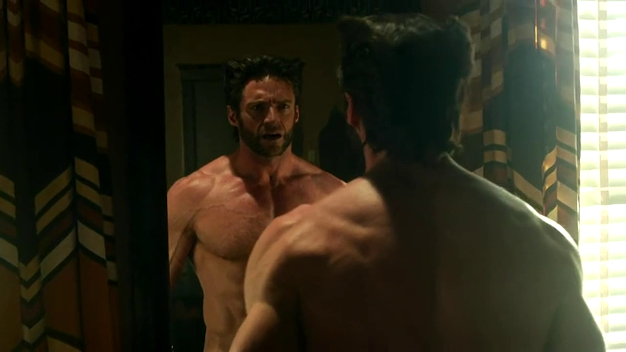 Hugh Jackman Naked in X-Men: Days of Future Past