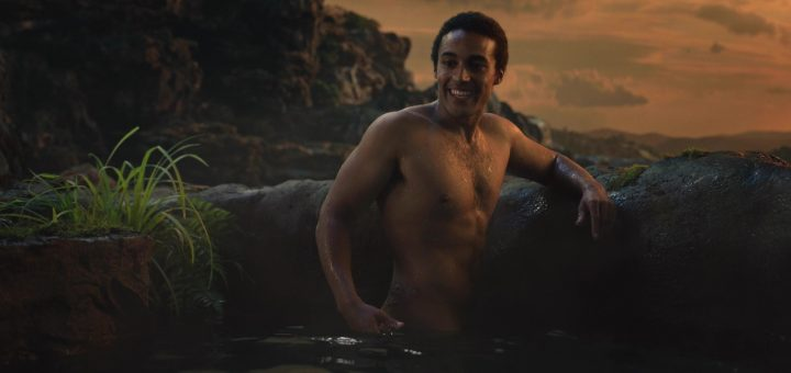 Devon Terrell naked in Cursed